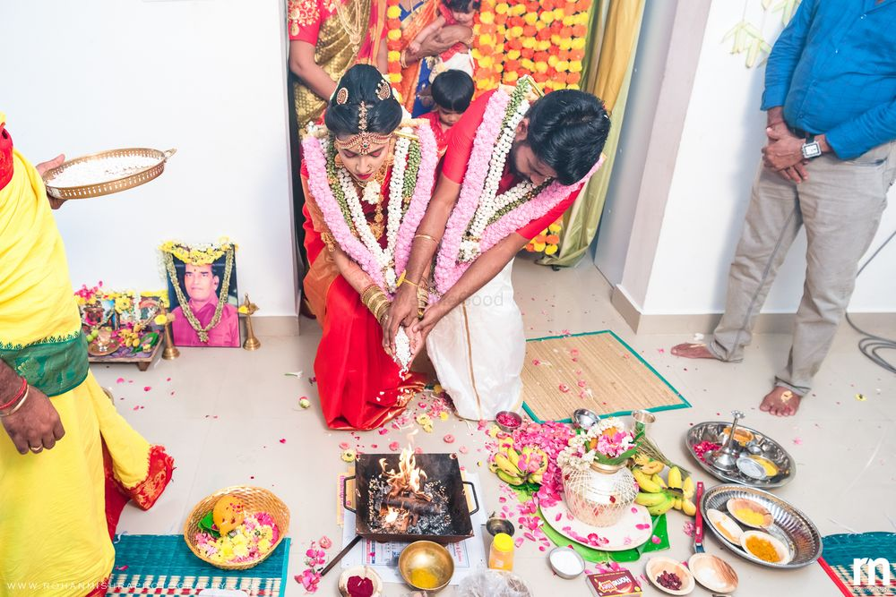 Photo From Veena & Ram - Intimate Home Wedding During Covid Times - By Rohan Mishra Photography