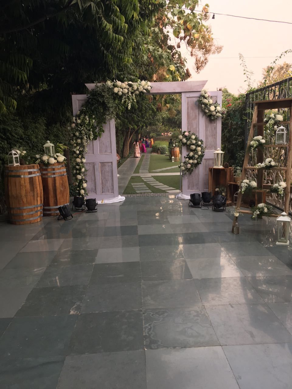 Photo From White Winter Wedding - By Pretty Much Events & Decor