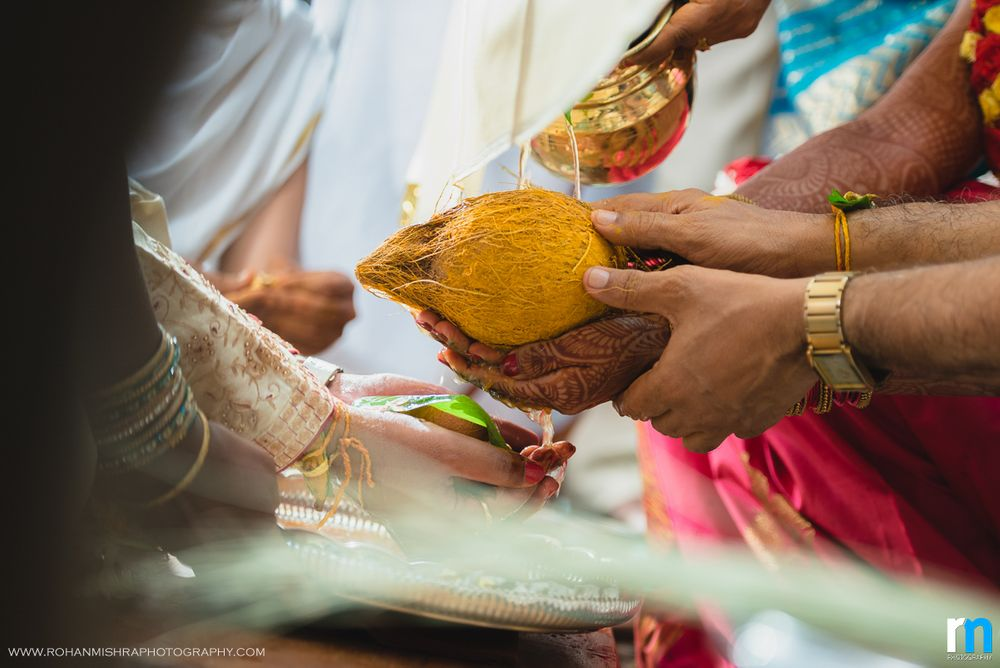 Photo From Vidya & Praveen | A Beautiful Tamil Telugu Cross Culture Wedding - By Rohan Mishra Photography