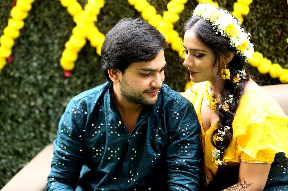 Photo From Haldi& Mehandi - By Makeup by Rinki Vijay