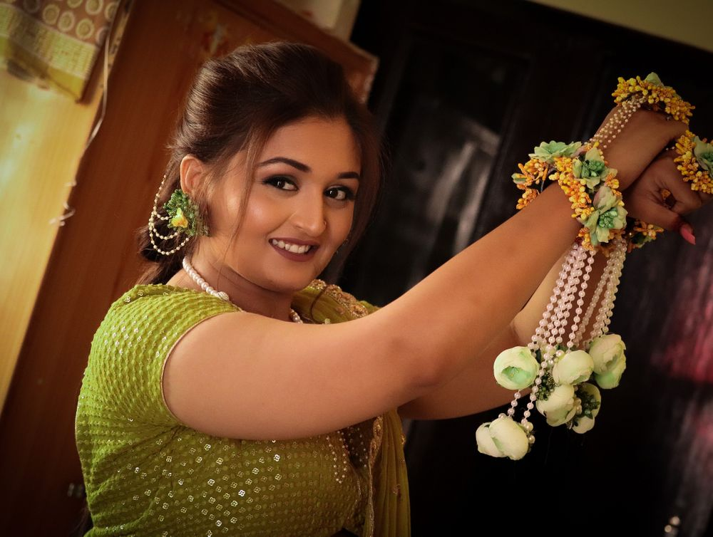 Photo From Haldi& Mehandi - By Makeup by Rinki Vijay