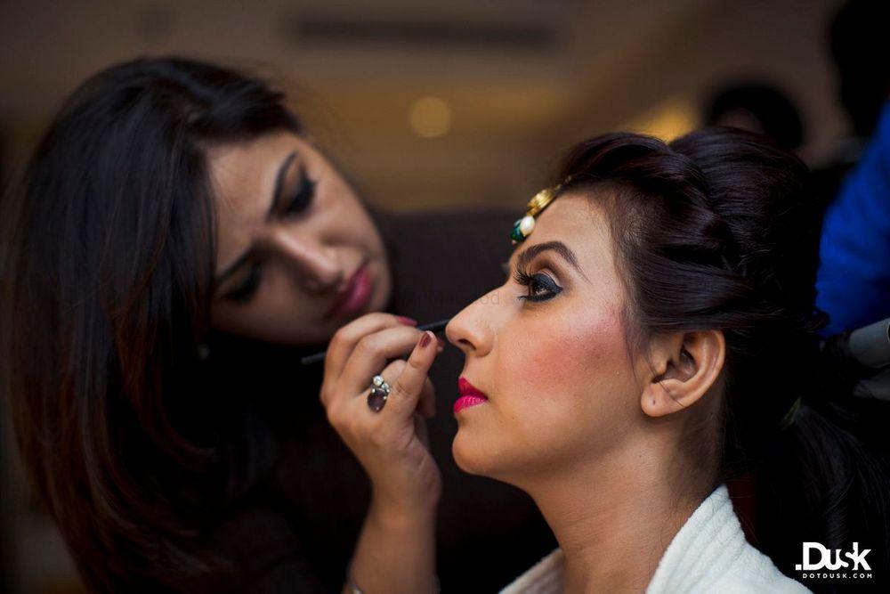 Photo From Ashna Bridal Makeup - By Shruti and Yashaswini Bridal Makeup