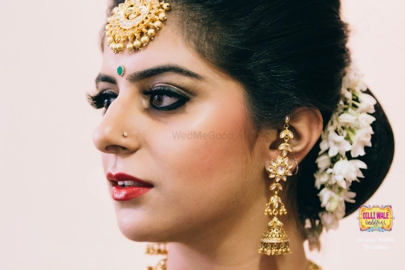 Photo of bridal makeup