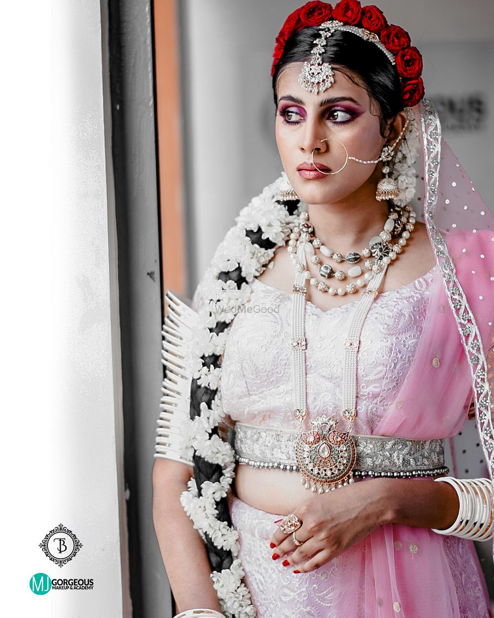 Photo From North Indian & Bengali Brides - By MJ Gorgeous Makeup & Academy