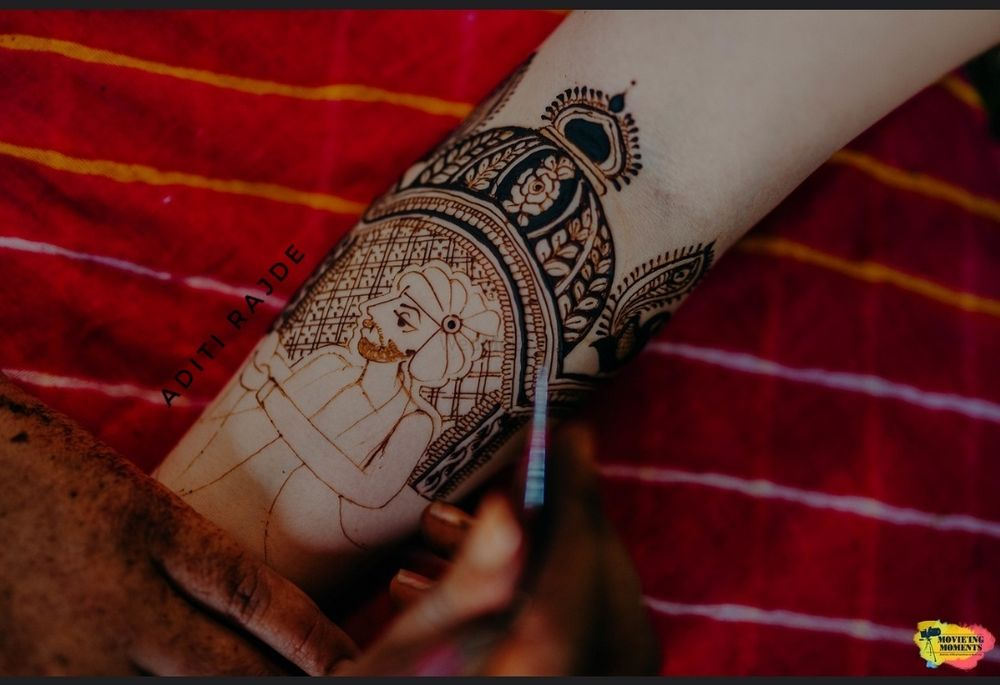 Photo From swapnali Bhanushali's mehendi - By Aditis Mehendi Art