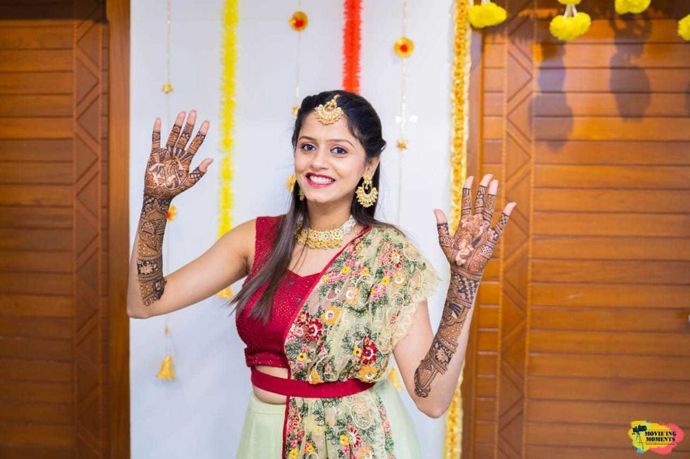 Photo From Siddhi dave's Mehendi - By Aditis Mehendi Art