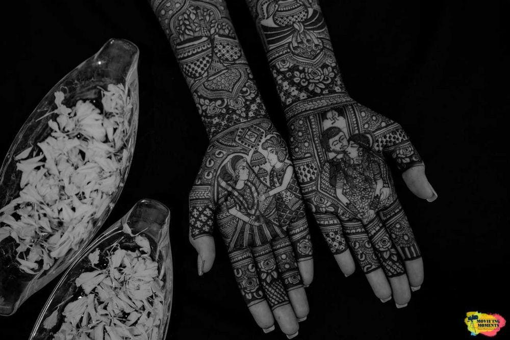 Photo From Siddhi dave's Mehendi - By Aditis Mehendi Art