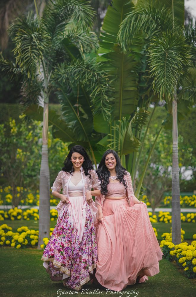 Photo of Engagement outfit light lehengas