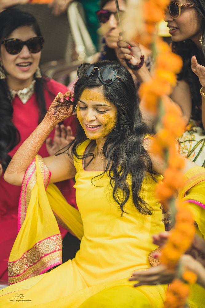 Photo From Haldi and Chura ceremony. - By Tuhina Chopra Photoworks