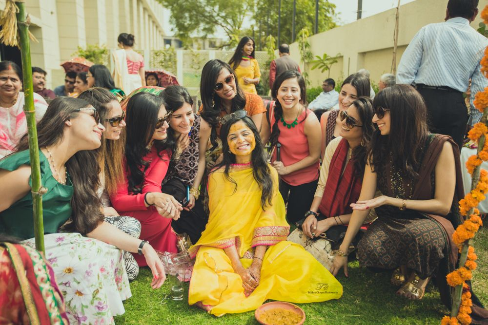 Photo From Haldi and Chura ceremony. - By Tuhina Chopra Photoworks