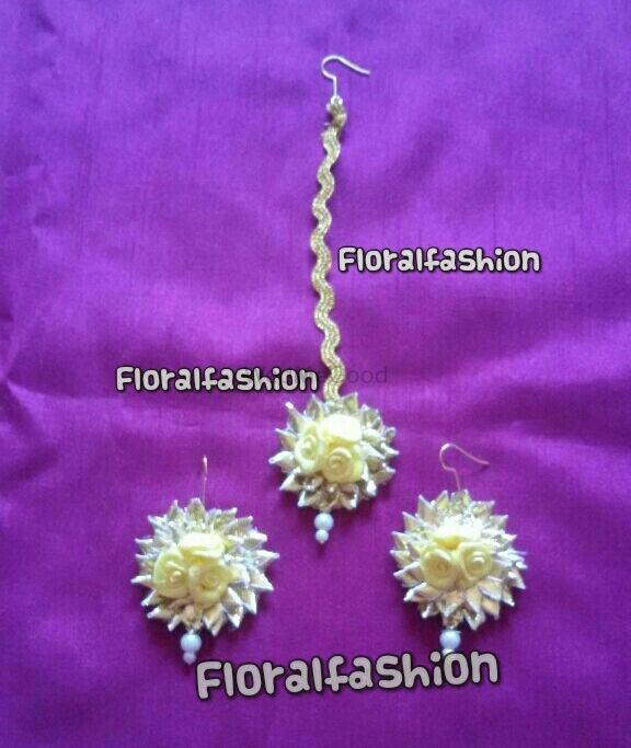 Photo From gotta jewellery wid flowers (yellow) - By Floral Fashion