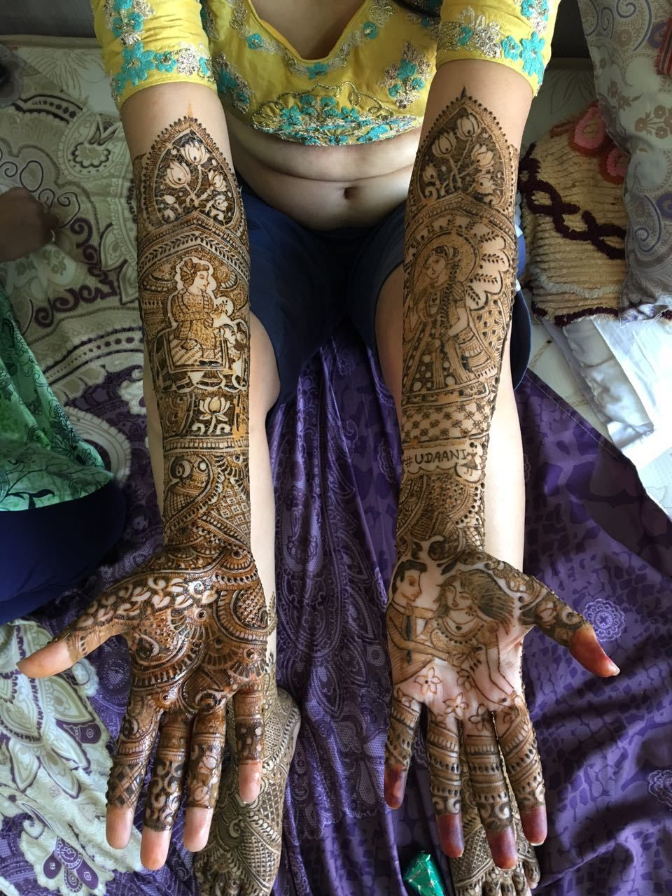 Photo From 2017-1 - By Lata Mehandi
