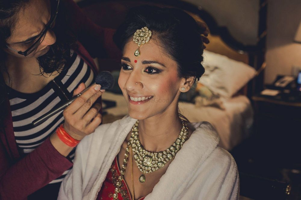 Photo From Bride in the making - By Shalini Singh Bridal Makeup