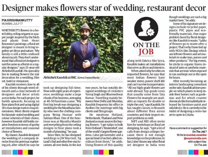 Photo From DBA In News - By Luxury Weddings by Abhishek