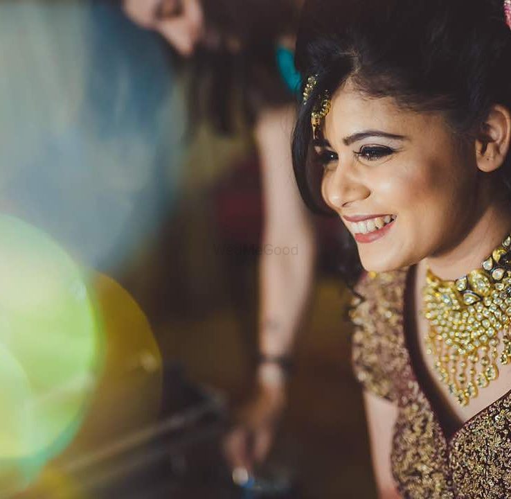 Photo From Beautiful Bride Richa - By Makeovers By Kamakshi Soni