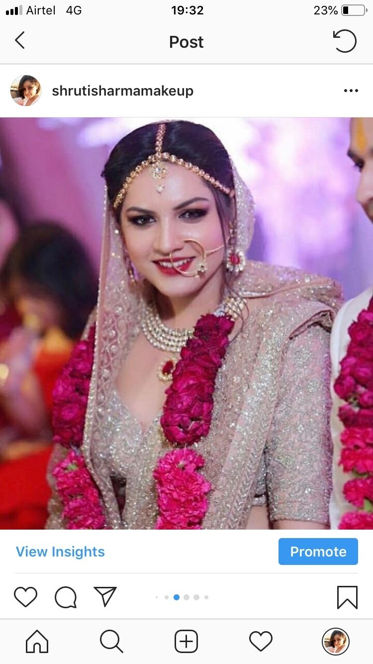 Photo From Monica  - By Shruti and Yashaswini Bridal Makeup