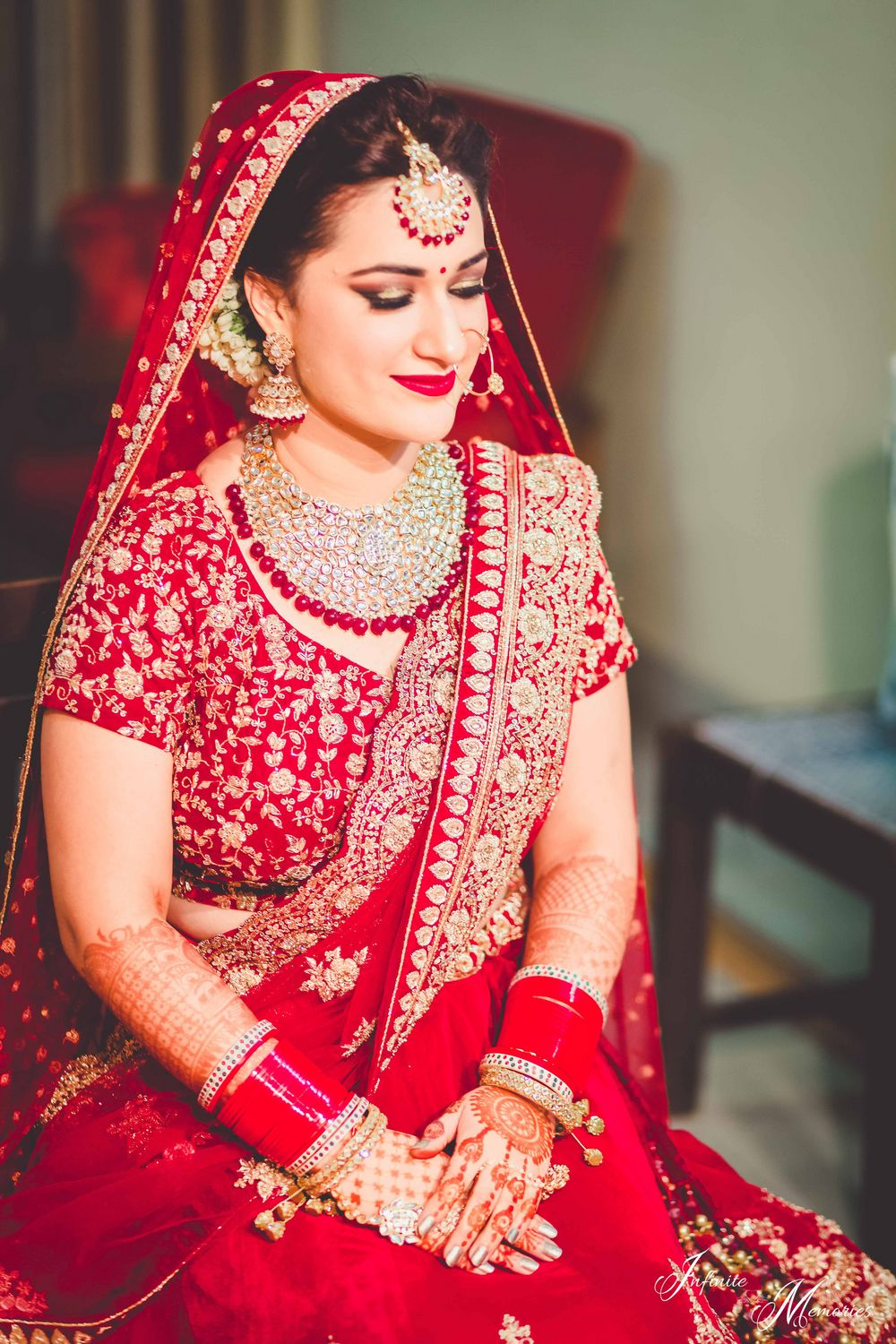 Photo From Punjabi Bride_Sharin, looking like a dream on her Wedding Day - By Nivritti Chandra
