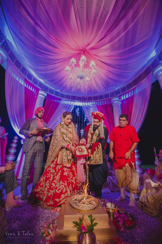 Photo From K x B   Beach Wedding Goa - By Vows & Tales