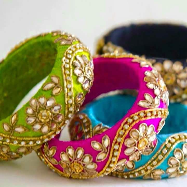 Photo From zardosi bangles as wedding favours - By Barkaat Atelier