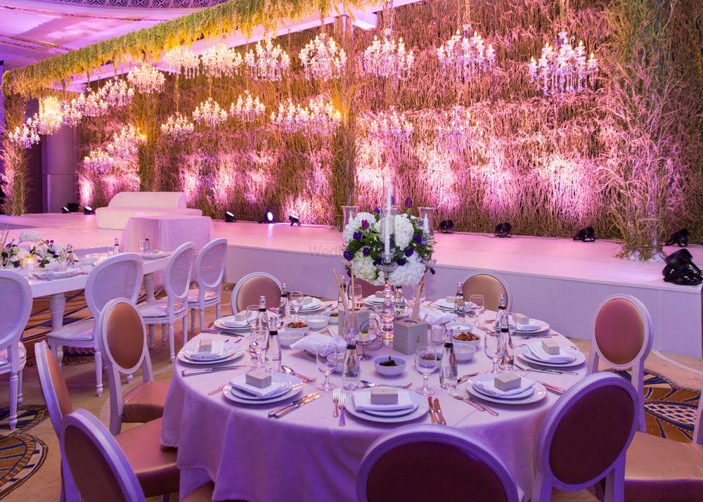 Photo of glamorous wonderland theme