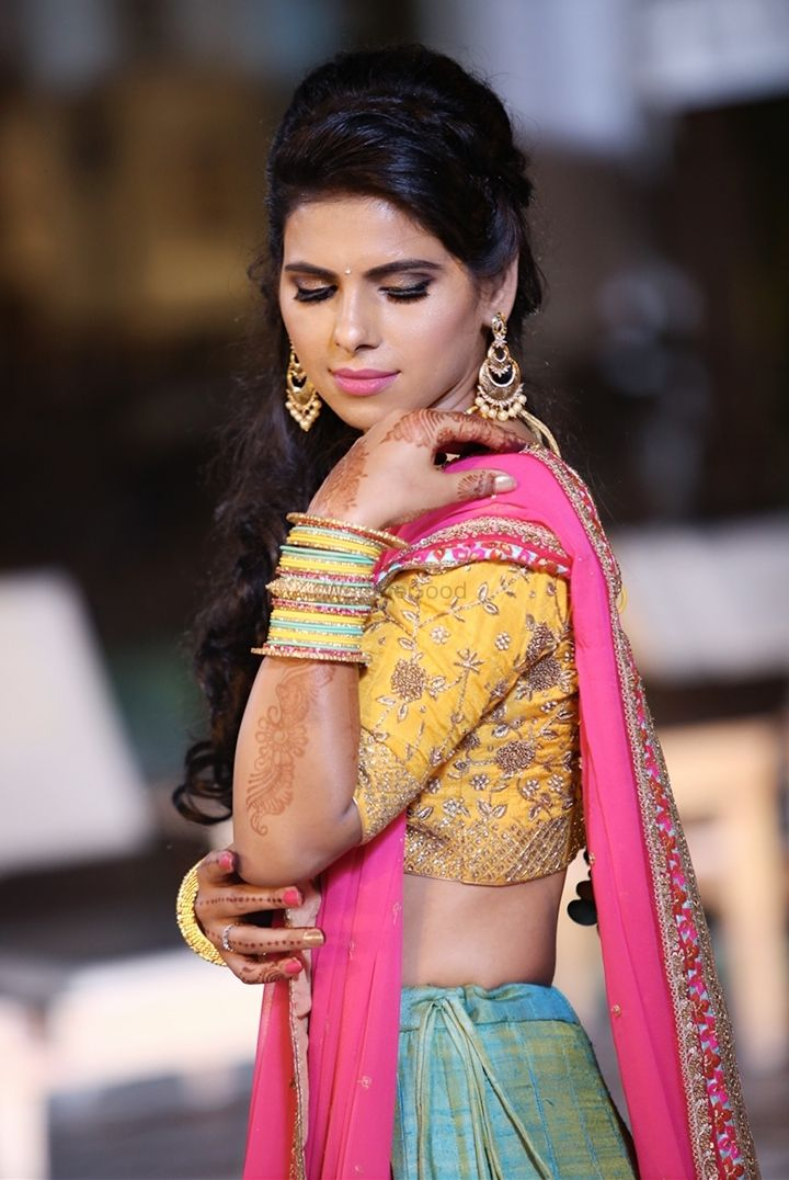 Photo From Manisha Engagement - By Divya Jaitly Makeup Artist