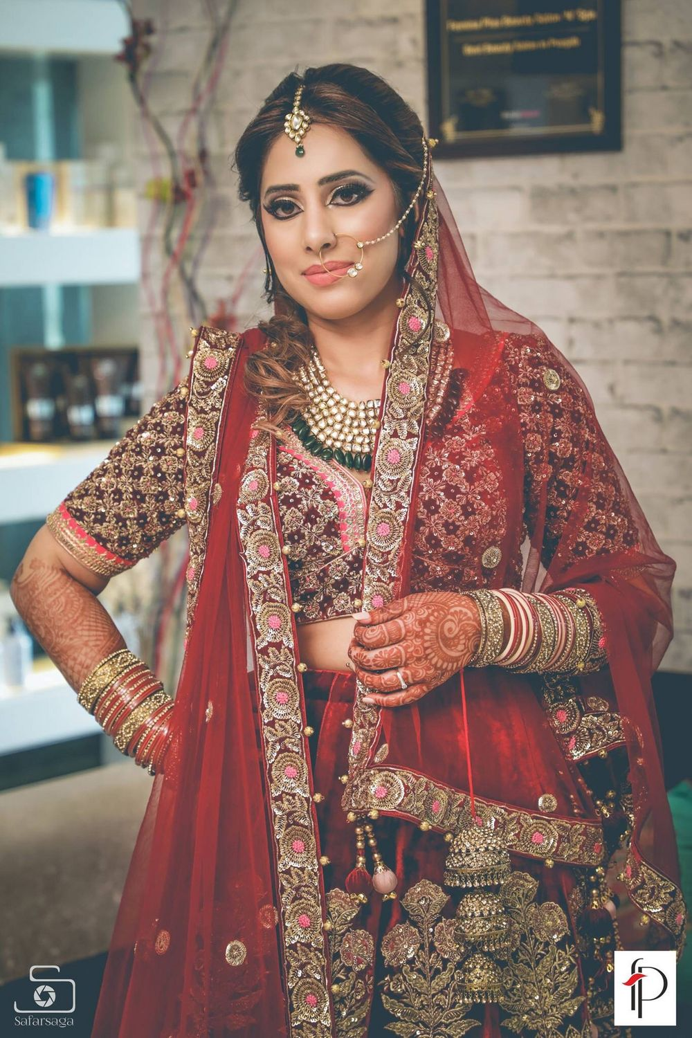 Photo From Bride all the way from CANADA  - By  Rachit Lavanya Makeovers