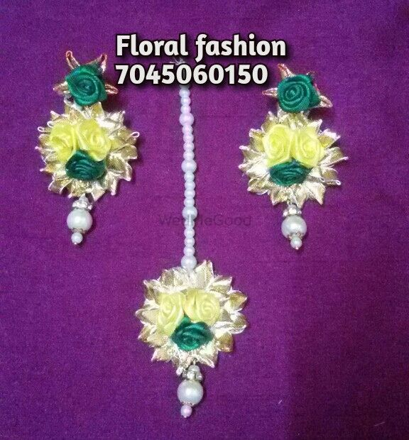 Photo From yellow  & green combo gota jewellery - By Floral Fashion