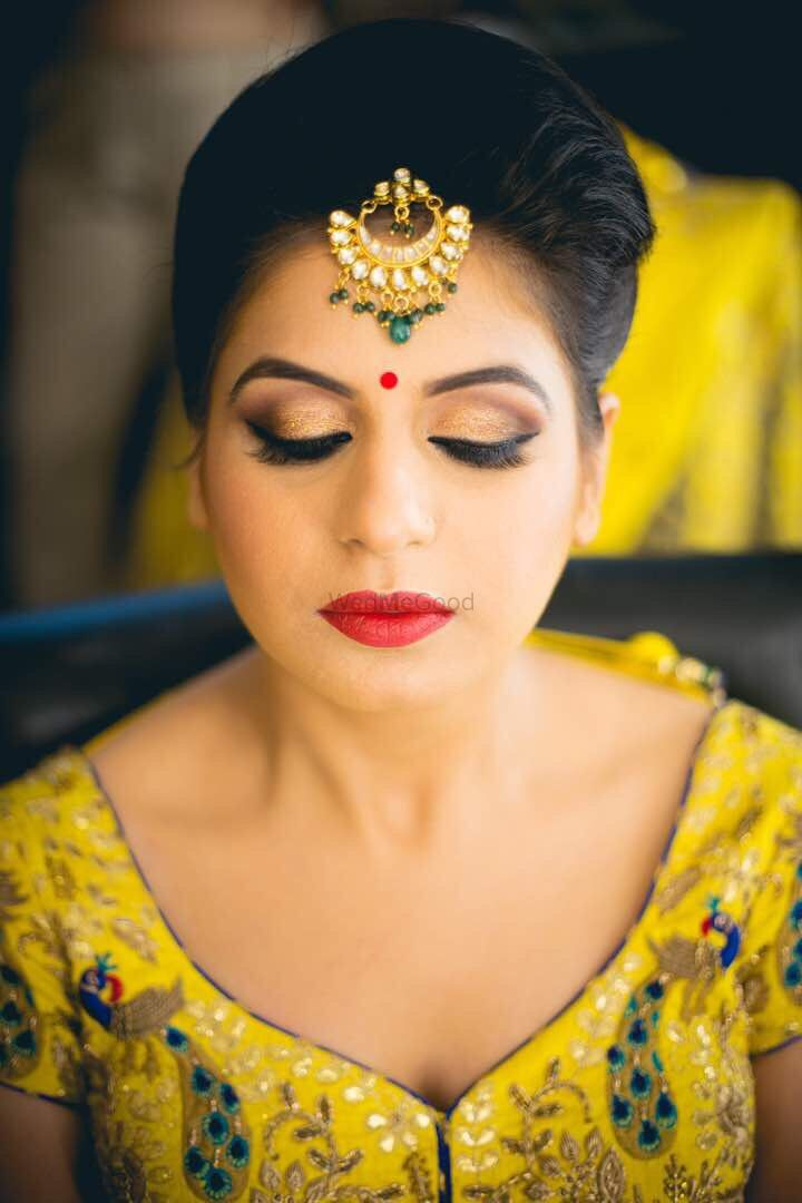 Photo From bride in yellow lehanga  - By Get Gorgeous with Ridhi