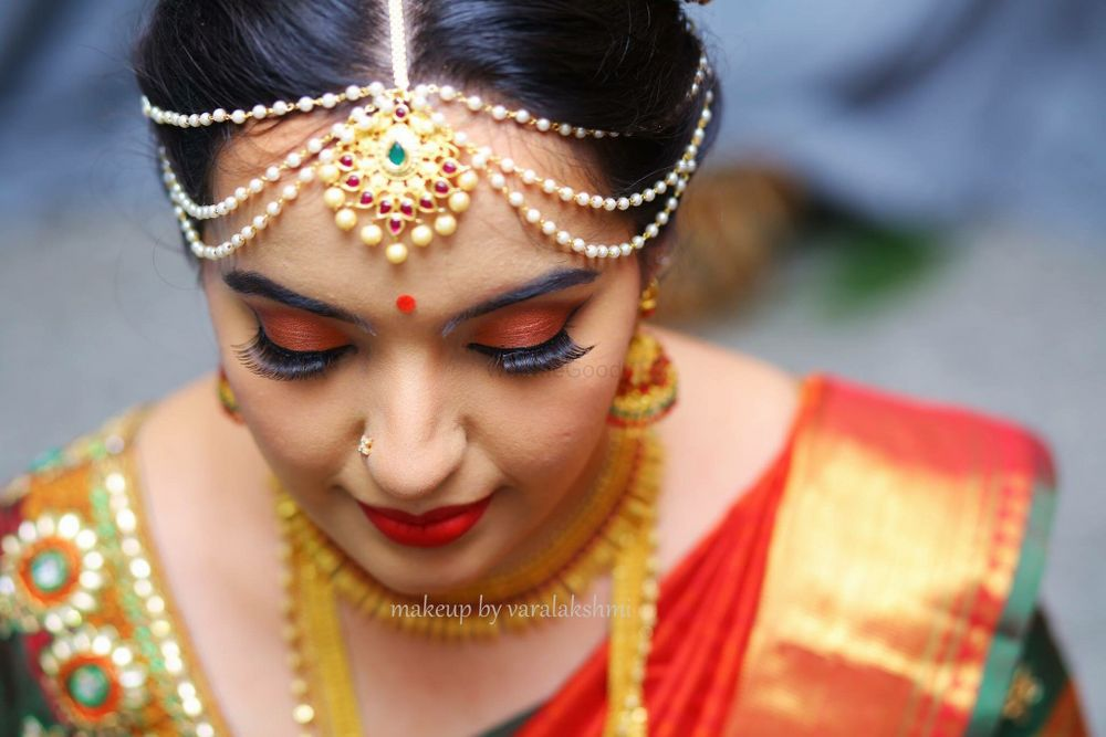Photo of South Indian bridal makeup
