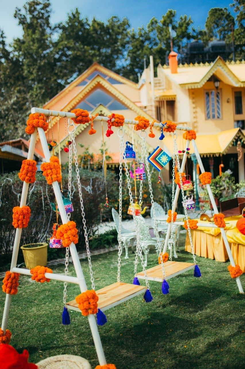 Photo of Bright and colorful day decor
