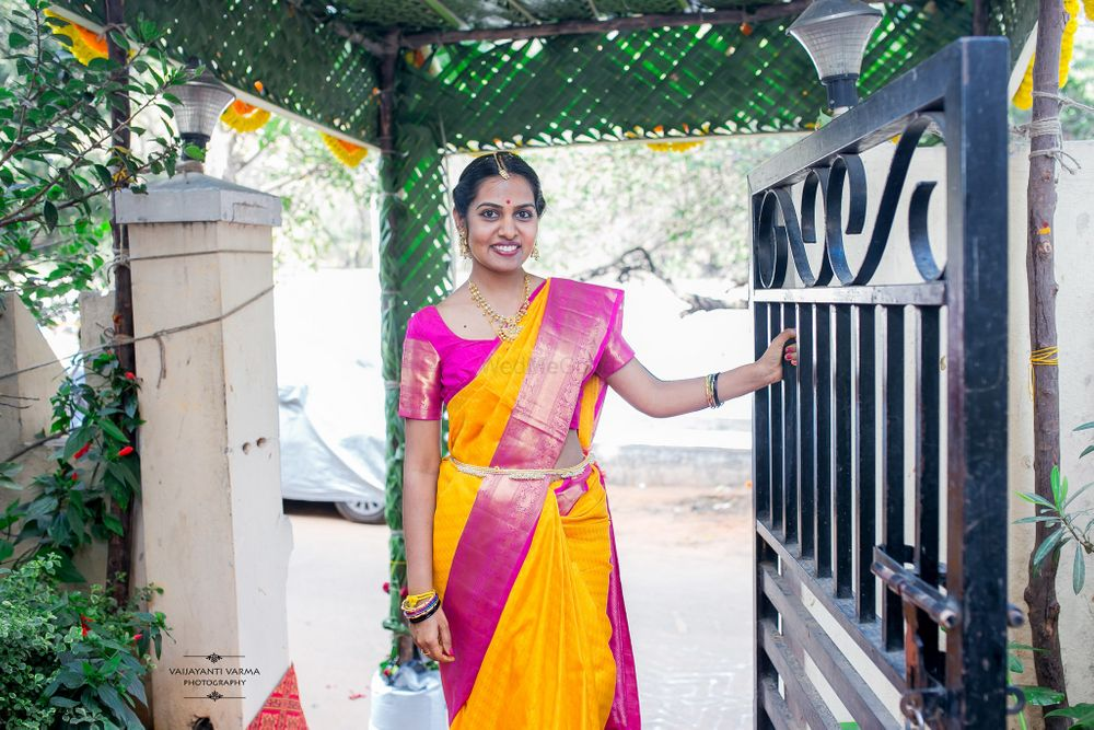 Photo From Sangeetha & Kaushik - By Vaijayanti Varma Photography