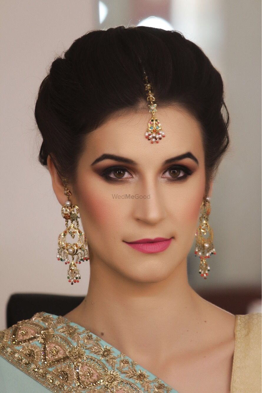 Photo From Indo Western Bridal Makeover by Parul Garg - By Makeup by Parul Garg
