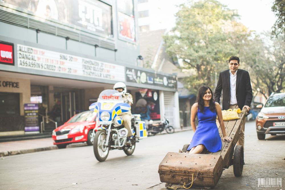 Photo From Pooja || Sushant Pre-Wedding - By The Bombay Brigade