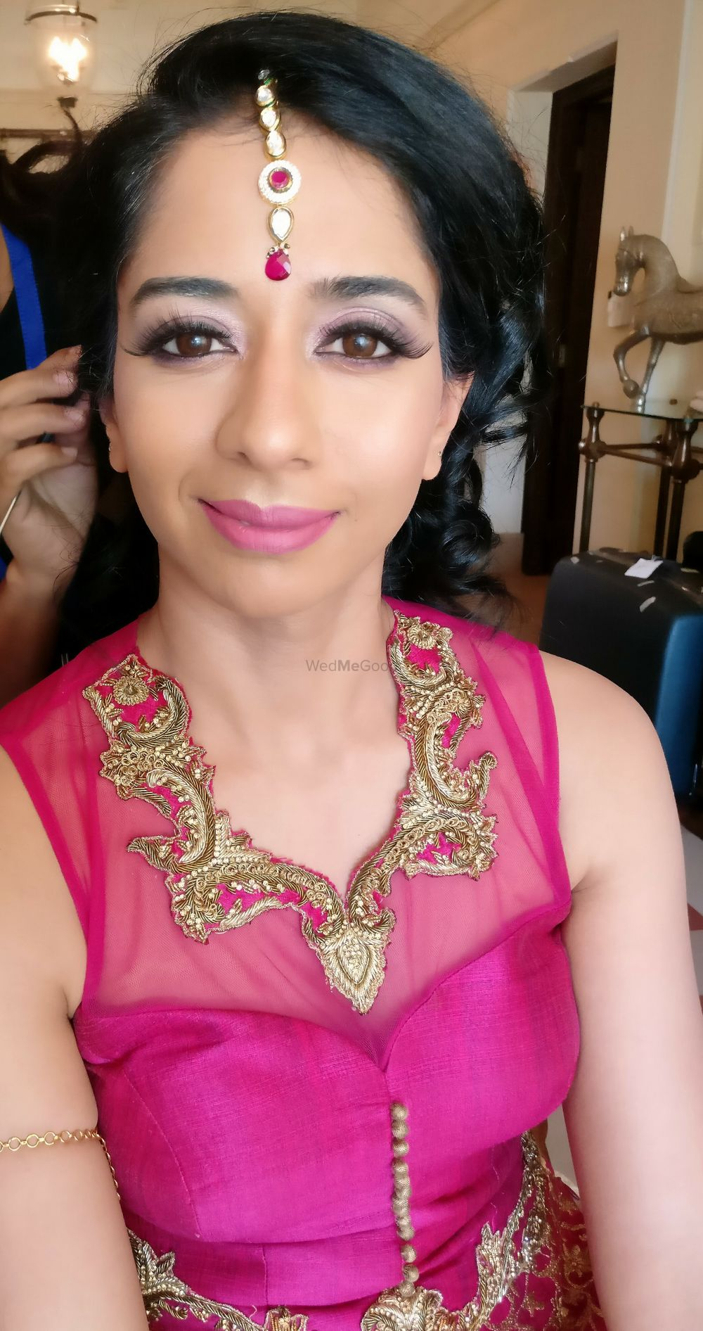 Photo From Dr.Tina Raman (Bride From USA) - By Makeovers By Kamakshi Soni