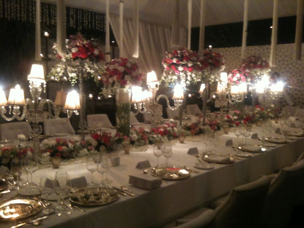 Photo of dinner table for the family