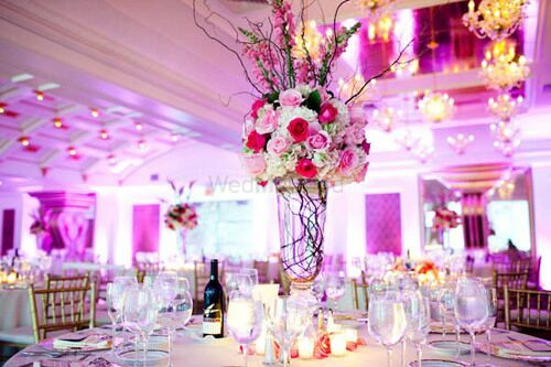 Photo of Floral table setting