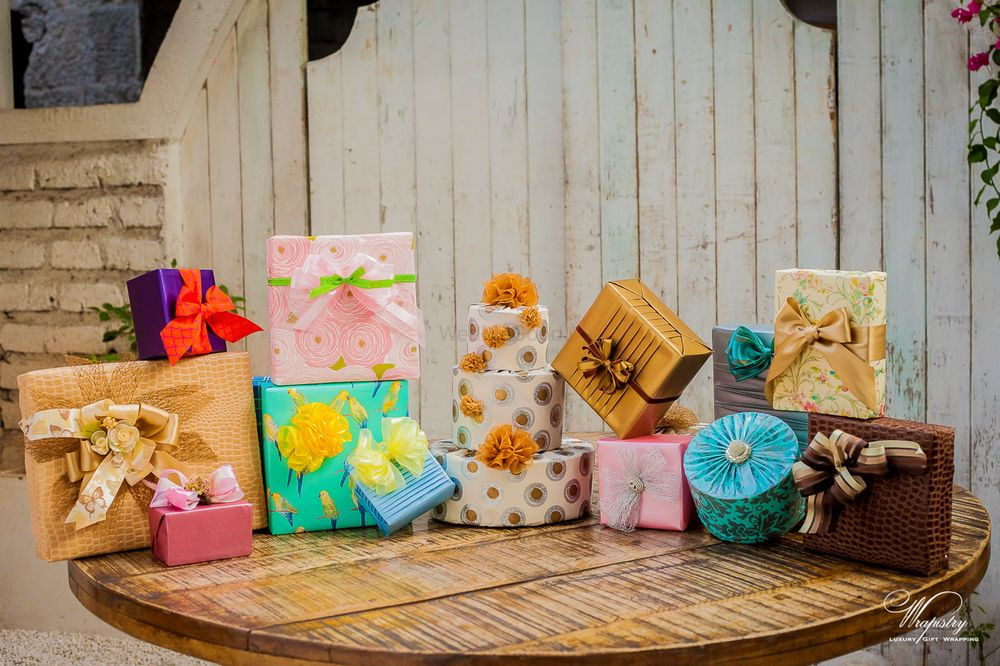 Photo of gift wrapping