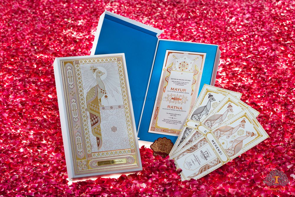 Photo From Mayur & Ratna - By Turmeric Ink Invitations and Stationery