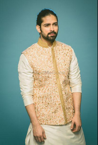 Photo of embroidered nehru jacket
