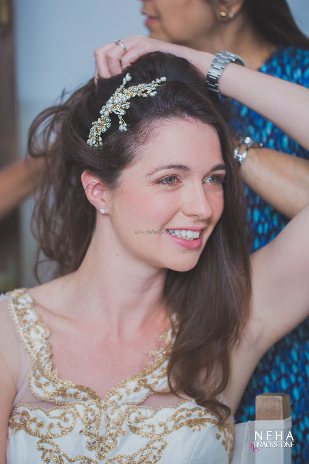 Photo of Engagement hair accessory with embellishment