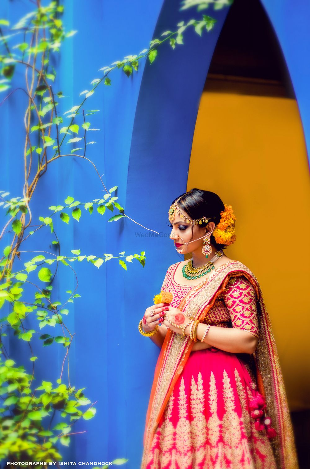 Photo of Wedding day bridal shot