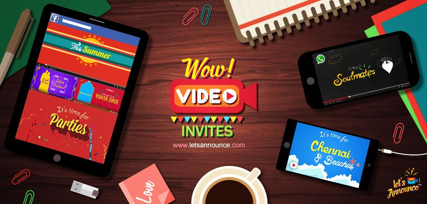 Photo From Video Invites - By Let's Announce