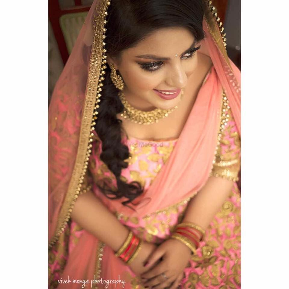 Photo From Chetna's engagement  - By Sapna Thakur Sharma Makeup Artist