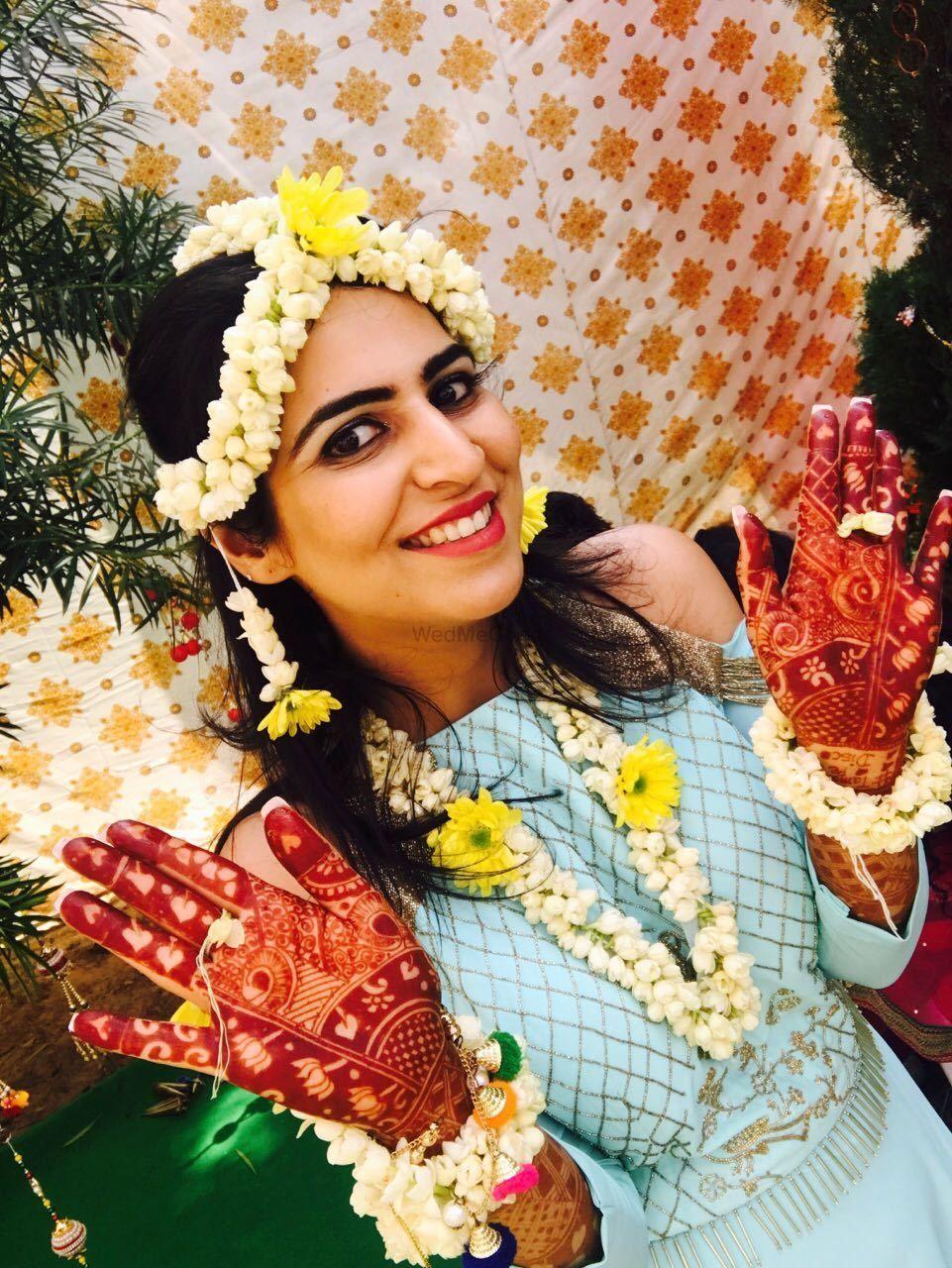 Photo From Tamana Chawla Mehendi ceremony at gurgaon,  3rd  Oct - By Shalini Mehendi Artist