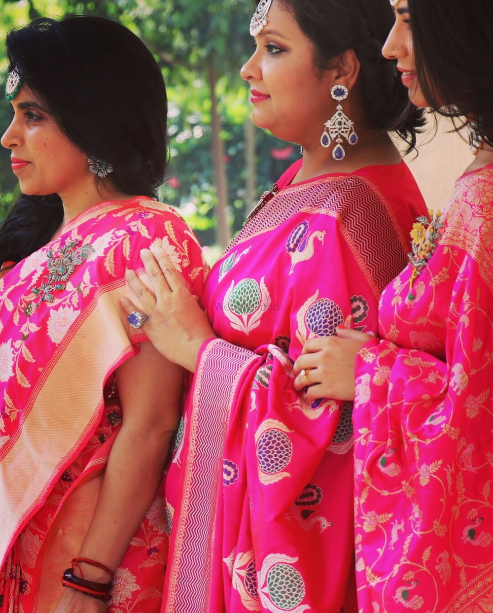 Photo From Royal banaras saree shoot  - By Blush Lounge