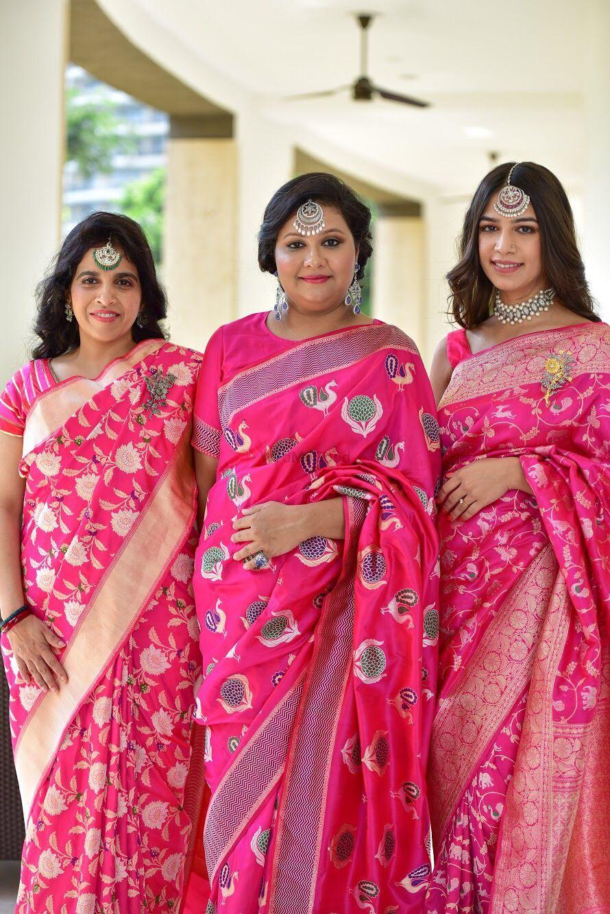 Photo From Royal banaras saree shoot  - By Blush Lounge