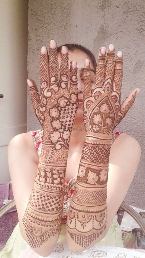 Photo From Neha wedding mehandi - By Raju Mehandi Artist
