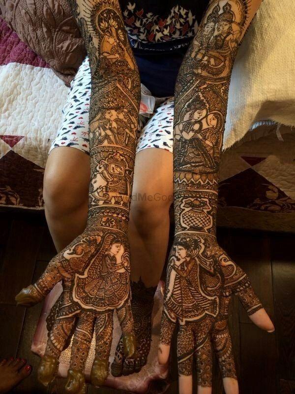 Photo From Chandigarh Wedding - By Raju Mehandi Artist