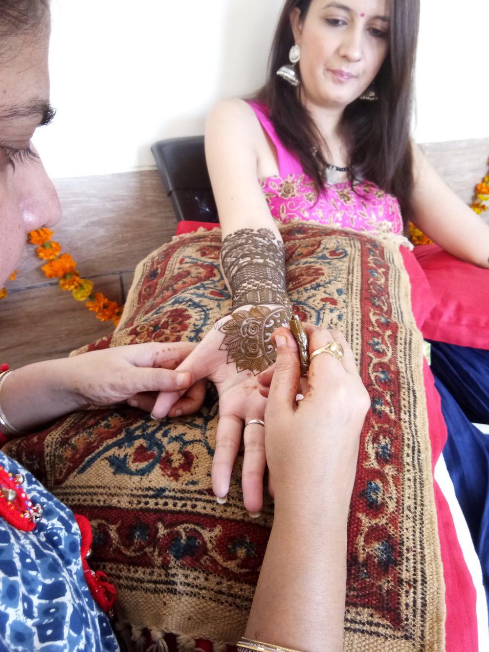Photo From Smita bridal mehendi at dwarka on 30. oct - By Shalini Mehendi Artist
