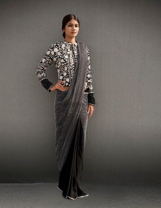 Photo of ombre saree